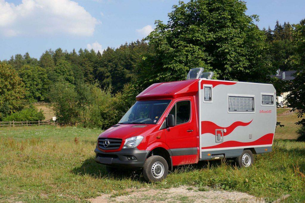 Wohnmobil Stellplätze Österreich